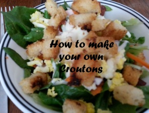 crouton salad