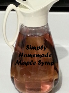 homemade maple syrup picture